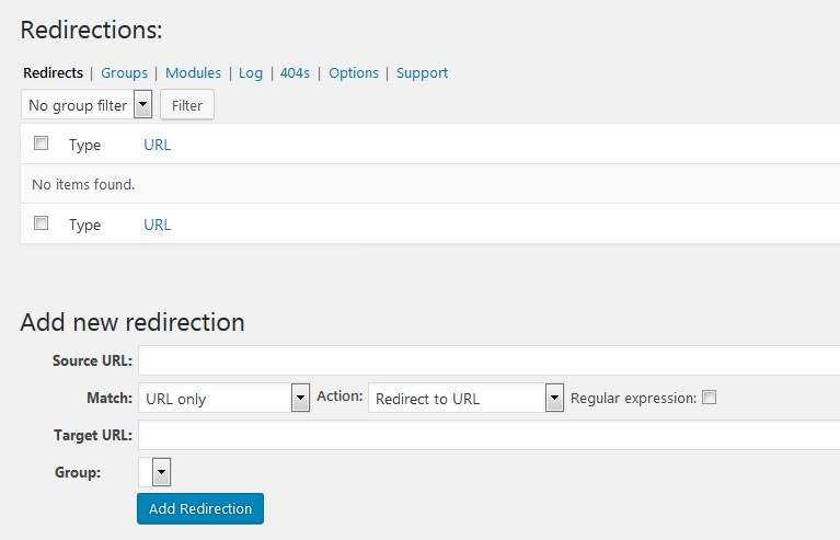 redirection-wp-plugin